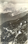 Click here to enlarge image and see more about item p19557: Zirlerbergstrasse mit Rasthalus, Tirol, Austria RPPC