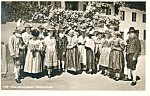 Oberammergau Germany, People in National Costume RPPC