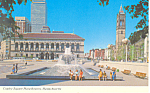Click here to enlarge image and see more about item p19576: Boston,Massachusetts, Copley Square Plaza
