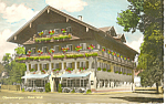 Click here to enlarge image and see more about item p19580: Oberammergau,Germany, Hotel Wolf