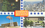 Click here to enlarge image and see more about item p19662: Dallas Texas Four Views