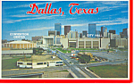 Click here to enlarge image and see more about item p19663: Dallas Texas City Hall Convention Center p19663