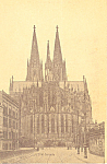 Cologne Germany Cathedral Ostseite p19691