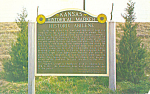 Click here to enlarge image and see more about item p19727: Historical Marker Aibilene Kansas p19727