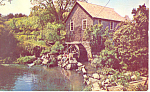Click here to enlarge image and see more about item p19729: Old Mill at Brewster,Massachusetts