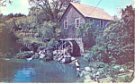 Click here to enlarge image and see more about item p19735: Old Mill at Brewster,Massachusetts