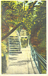 Entrance to Lovers' Lane, Watkins Glen, New York