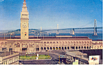 Click here to enlarge image and see more about item p19753: Ferry Building San Francisco California p19753