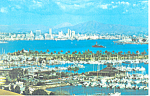 Click here to enlarge image and see more about item p19759: Aerial View of San Diego, California