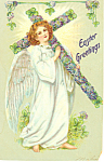 Click here to enlarge image and see more about item p19778: Raphael Tuck Easter Postcard p19778 Series 112