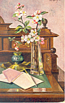 Click here to enlarge image and see more about item p19798: Still Life Signed by A Geyer Postcard p19798