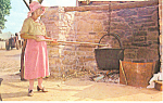 Pennsylvania Dutch Woman Making Apple Butter