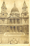 Click here to enlarge image and see more about item p19869: St Paul's Cathedral