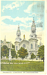 Click here to enlarge image and see more about item p19886: Basilica, St Anne de Beaupre, Quebec,Canada