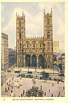 Click here to enlarge image and see more about item p19887: Notre Dame Church  Montreal Quebec Canada p19887