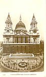 Click here to enlarge image and see more about item p19889: St Paul's Cathedral, London, United Kingdom