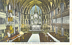 Interior Notre Dame Church Montreal Canada p19892