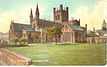 Click here to enlarge image and see more about item p19894: Chester Cathedral N E United Kingdom p19894