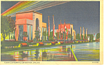 Click here to enlarge image and see more about item p19934: Texas Centennial Exposition Electrical Building Postcard p19934