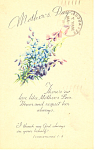 Click here to enlarge image and see more about item p19949: Mother's Day Service Announcement