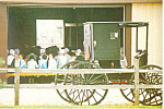 Amish Family Buggy Church Service p19984