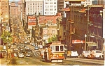 Click here to enlarge image and see more about item p2001: San Francisco CA Cable Car Postcard p2001