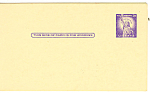 Click here to enlarge image and see more about item p20033: UX46 3 Cent purple Statute of Liberty Postal Card