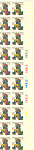 Click here to enlarge image and see more about item p20037: #1729 13 cent Washington at Valley Forge Plate Block