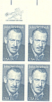 Click here to enlarge image and see more about item p20045: #1773, 15 Cent John Steinbeck Zip Code Block