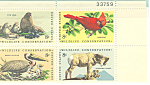 Click here to enlarge image and see more about item p20064: #1467a -  8 Cent Wildlife Conservation Plate Block