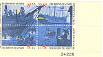 Click here to enlarge image and see more about item p20066: #1483a -  8 Cent Boston Tea Party Plate Block
