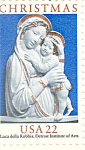 Click here to enlarge image and see more about item p20077: #2165 -  22 Cent Genoa Madonna  Plate Block