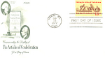 Click here to enlarge image and see more about item p20082: #1726 Articles of Confederation FDC Cachet