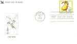 Click here to enlarge image and see more about item p20089: #2077-20 cent Yellow Lady Slipper FDC Cachet