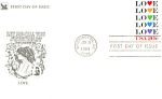 Click here to enlarge image and see more about item p20096: #2072-20 cent Love FDC Cachet