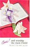 Click here to enlarge image and see more about item p2030: Easter  Postcard