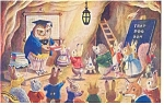 Click here to enlarge image and see more about item p2031: Prize Day Bunny by Racey Helps Postcard