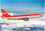 LTU Airline Postcard of a L-1011 p2049
