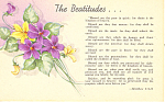 The Beatitudes, Matthew 5:3-12
