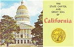 Click here to enlarge image and see more about item p2102: Sacramento CA State Capitol Postcard