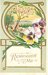 Remember Me Postcard p21051