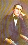 Click here to enlarge image and see more about item p2107: Stephen Foster Portrait Postcard