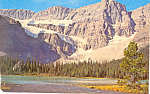 Click here to enlarge image and see more about item p21082: Crowfoot Glacier,Banff National Park, Canada