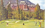 Click here to enlarge image and see more about item p21091: Banff Springs Hotel and Golf Course,Banff National Park