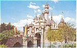 Click here to enlarge image and see more about item p2110: Disneyland Sleeping Beauty Castle Postcard p2110