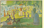 Sunday Afternoon on the Island of Grande Jatte 1884 86 p21118