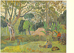 The Big Tree Te Raau Rahi Paul Gauguin Postcard p21127
