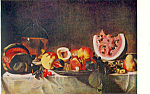 Click here to enlarge image and see more about item p21130: Still Life Caravaggio Postcard p21130