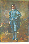 Blue Boy Thomas Gainsborough Postcard p21135