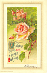 Wishing you a happy Birthday Roses,John Winsch p21155